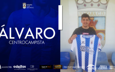 COMUNICADO OFICIAL : Fichaje del centrocampista Álvaro Navajas.
